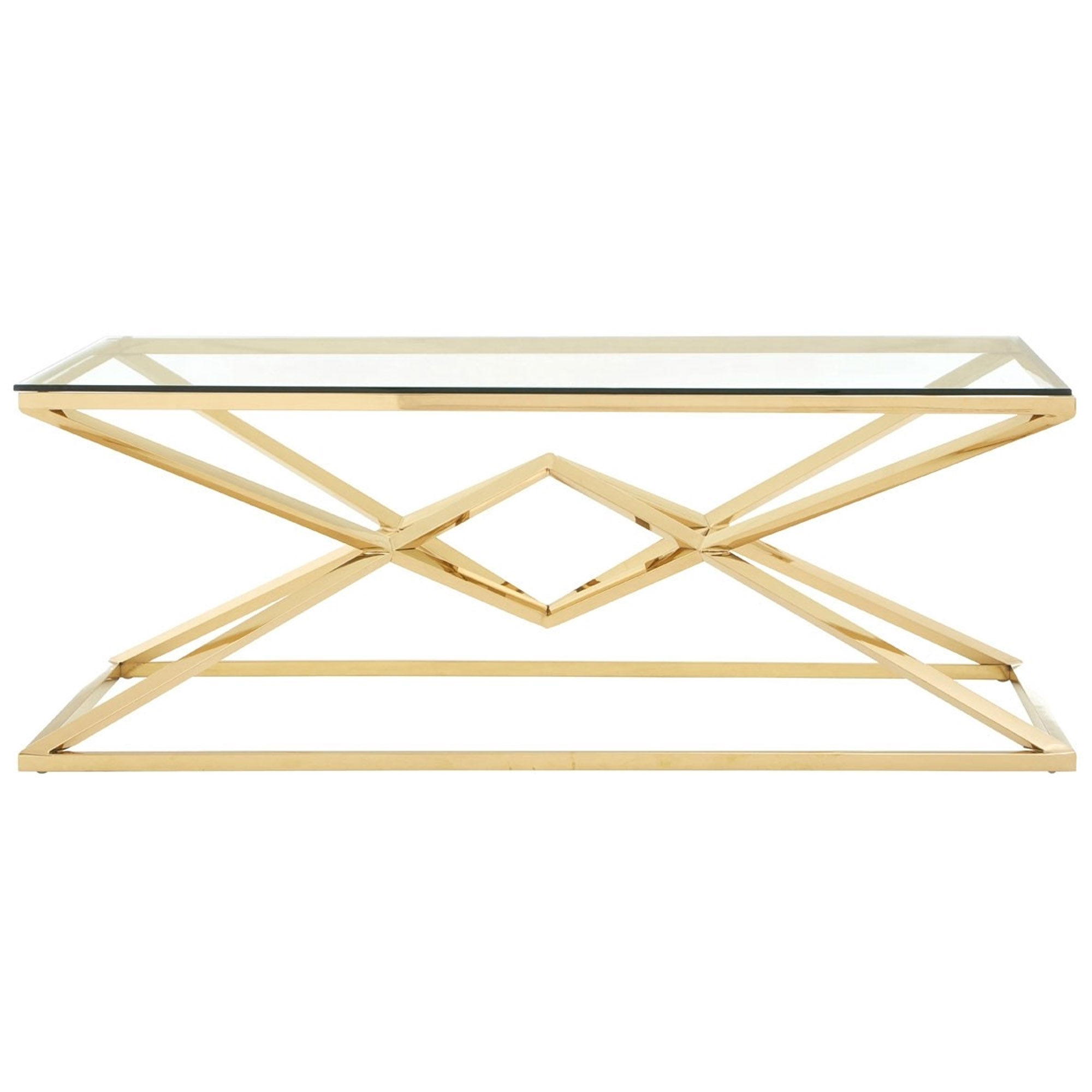 539a64365a6a6 Allure Gold Coffee Table | Contemporary Lounge Furniture