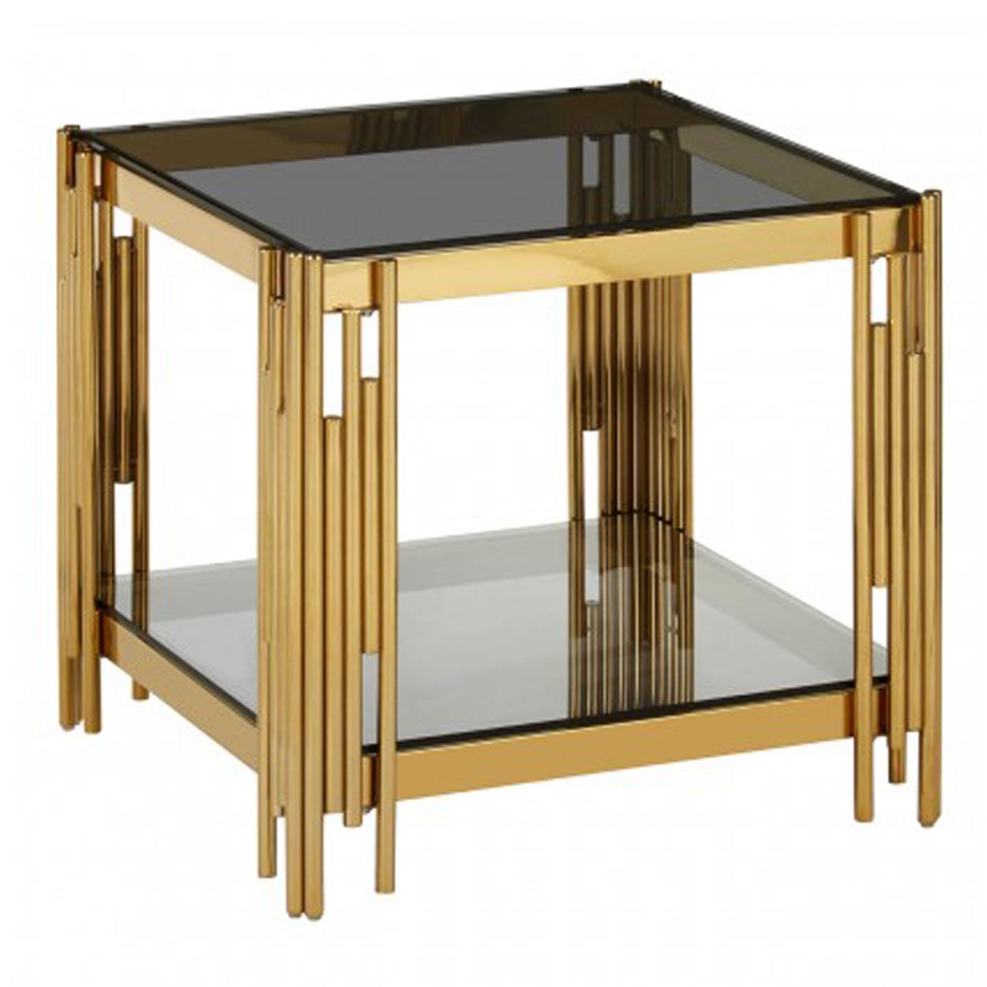 Allure Linear Design End Table Modern Furniture End Tables