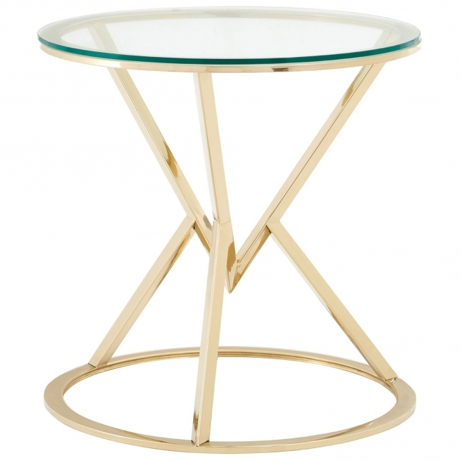 Allure Round End Table