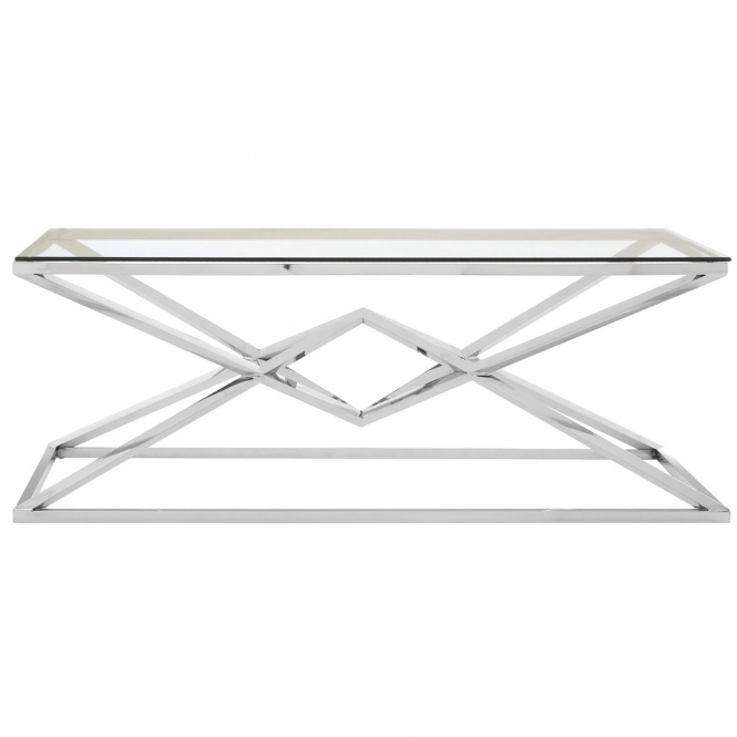 Allure Silver Coffee Table