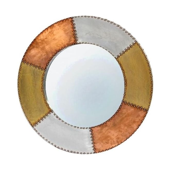 Aluminium and Copper Mirror
