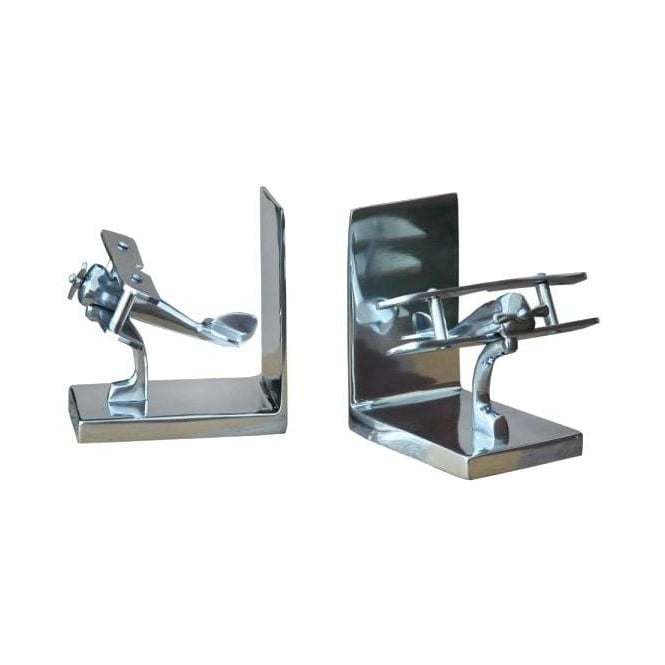 Aluminium Bi Plane Bookend