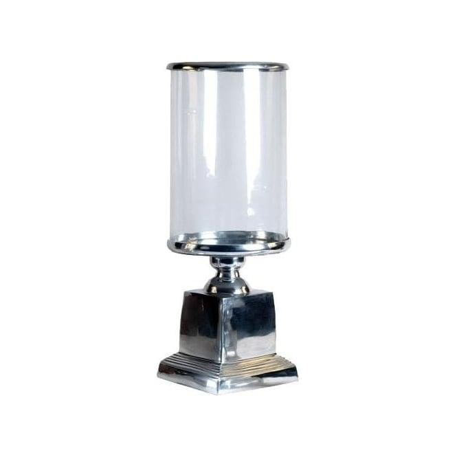 Aluminium Hurricane Candle Lamp