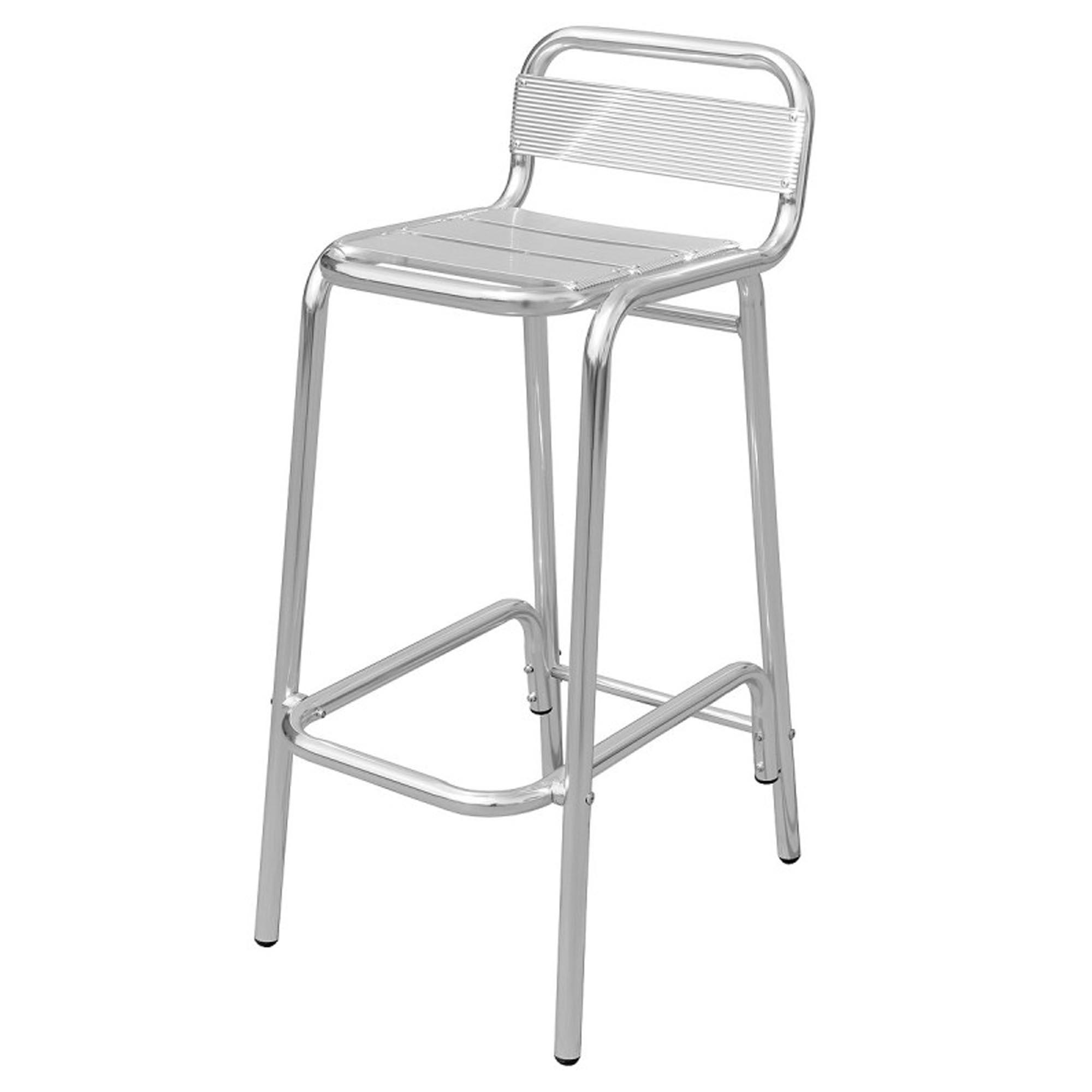 Marvelous Aluminium Outdoor Bar Stool Squirreltailoven Fun Painted Chair Ideas Images Squirreltailovenorg