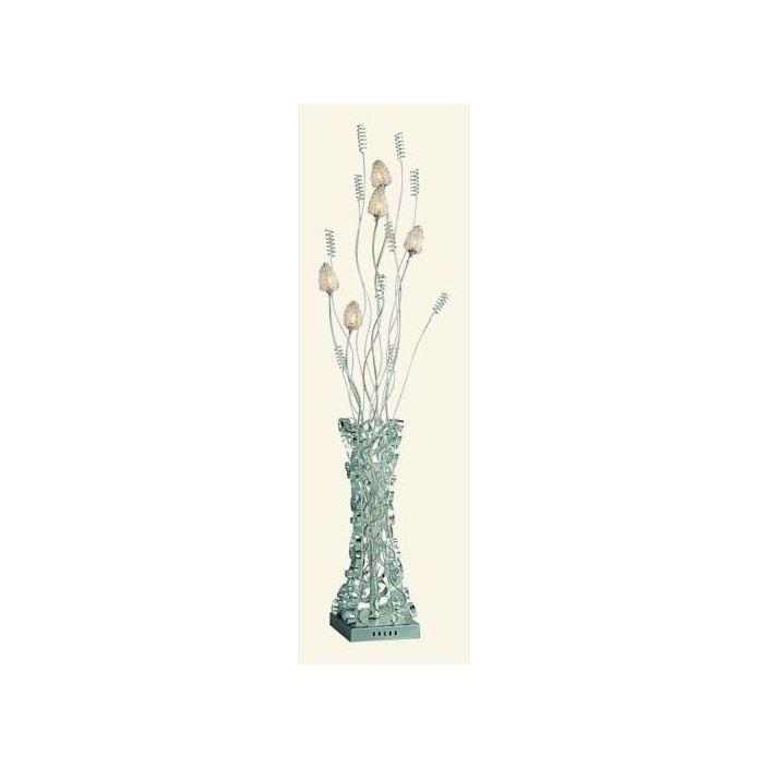 Aluminium Vase and Flower Floor Lamp - Floorstanding Lamps from ...