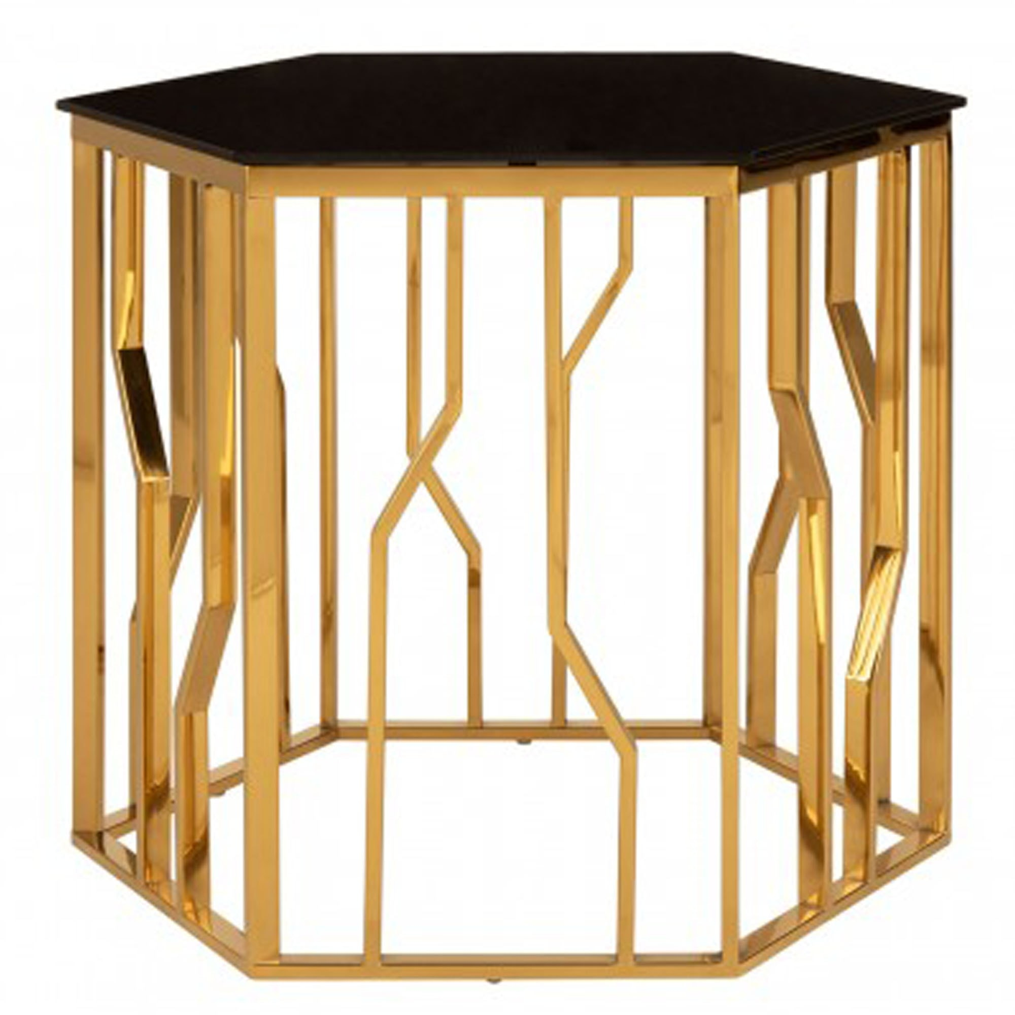 Picture of: Alvaro Black Glass Side Table Modern Furniture Side Tables