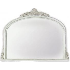 Amarone Distressed Antique French Style Mirror