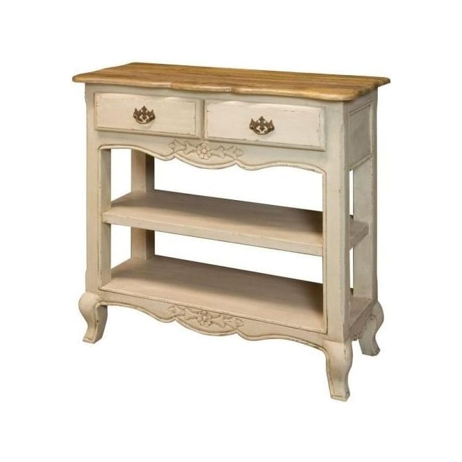 Amberly Antique French Style Console Table