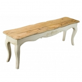 Amberly Shabby Chic Bench