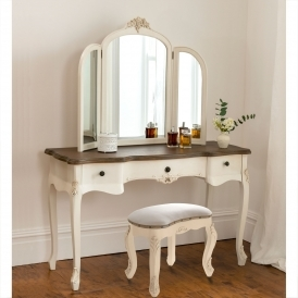Annaelle Antique French Dressing Table Set