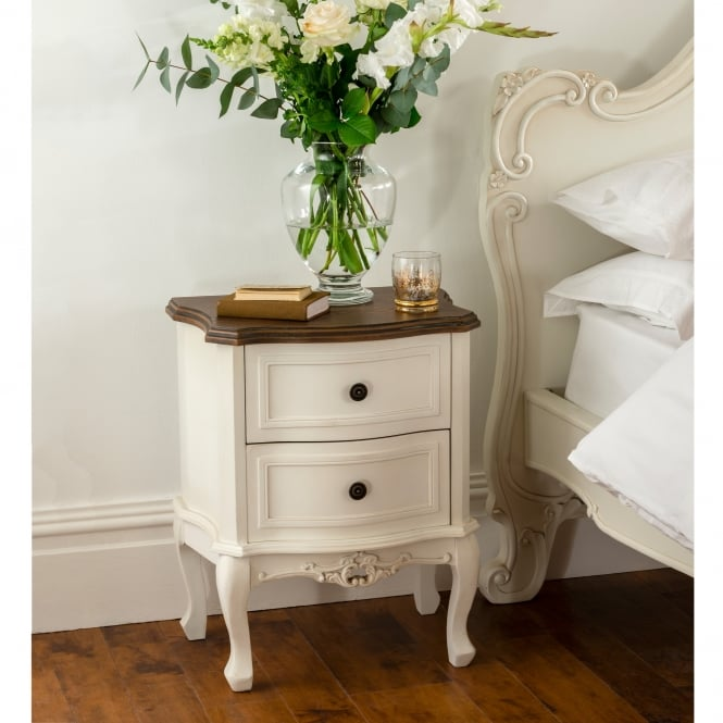 Annaelle Antique French Style Bedside Table