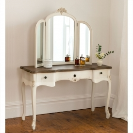Annaelle Antique French Style Dressing Table