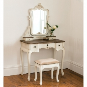 Annaelle Antique French Style Dressing Table Set