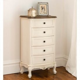 Annaelle Antique French Style Tallboy Chest