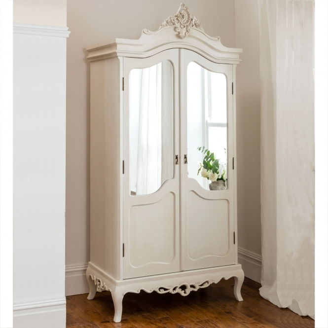 Annaelle Antique French Wardrobe