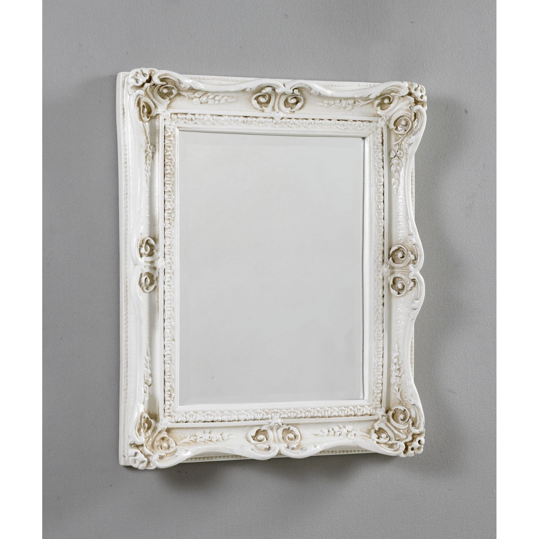 Antique french ivory mirror 9 for Antique french mirror