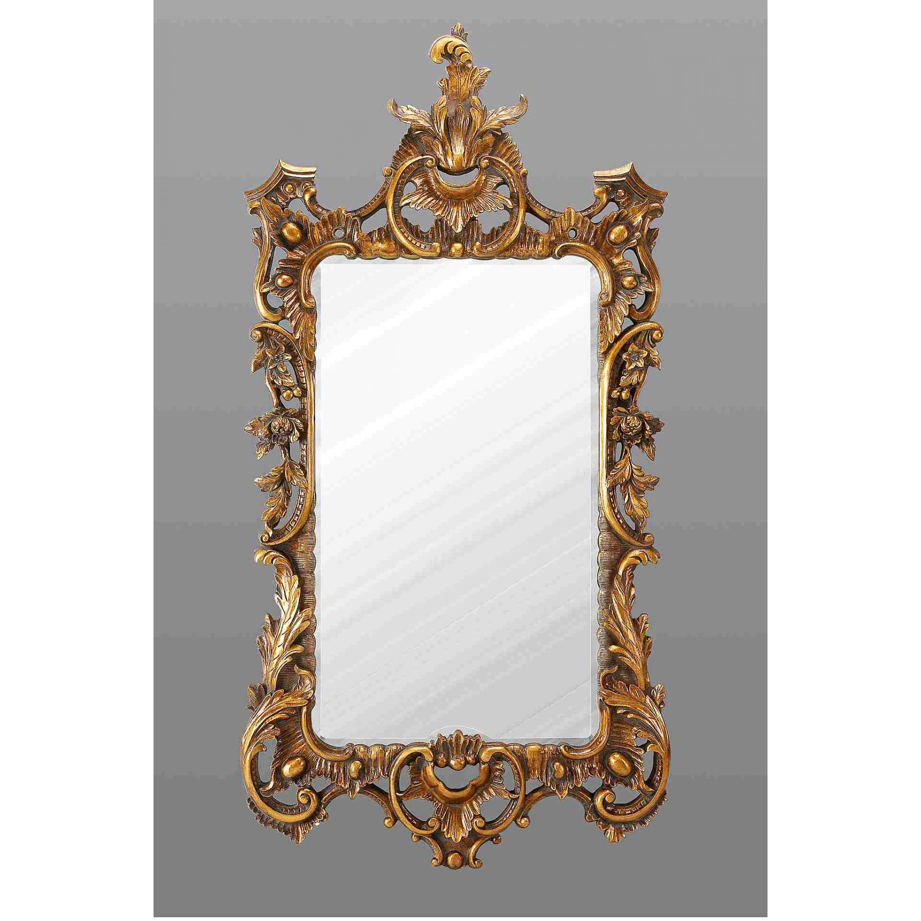 Gold Antique French Mirror