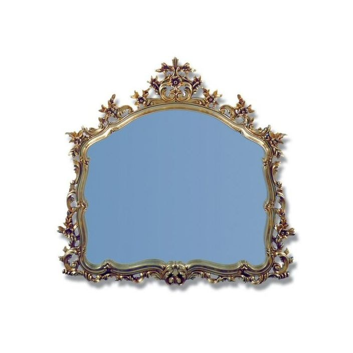 antique french style ornate mirror