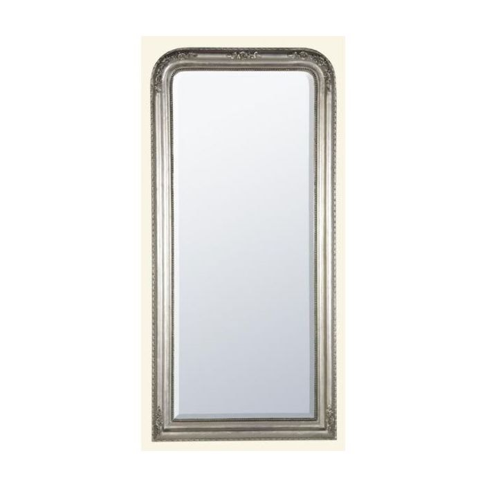 tall antique french style mirror