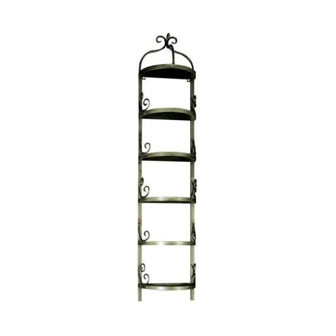 Antique French Style 5 Tier iron Storage