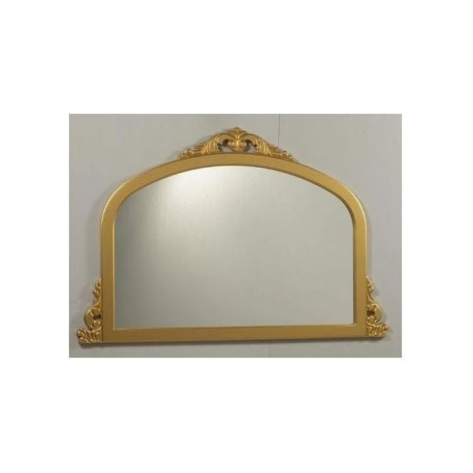 Antique French Style Affinity Overmantle Mirror