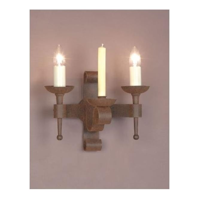 Antique French Style Aged Wall Light