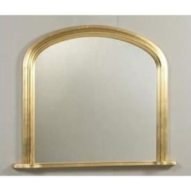 Antique French Style Albion Overmantle Mirror