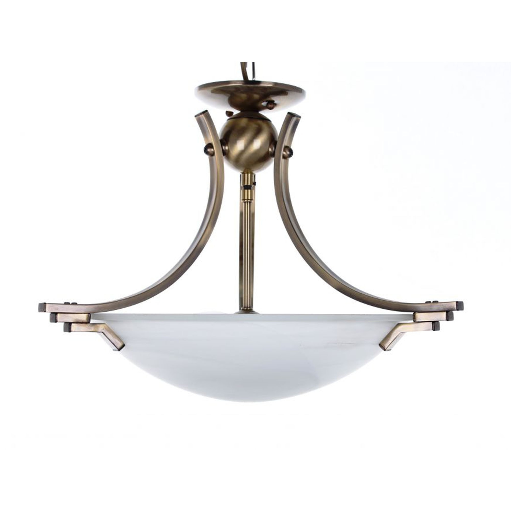 Antique French Style Amora Brass Ceiling Light Ceiling Lights