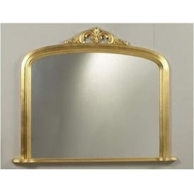 Antique French Style Anderson Overmantle Mirror 2
