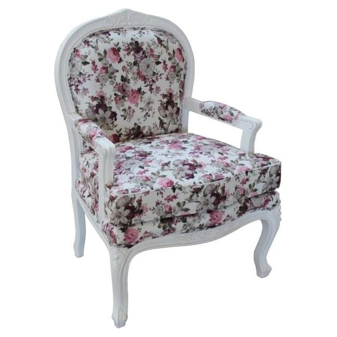 Antique French Style Arm Chair
