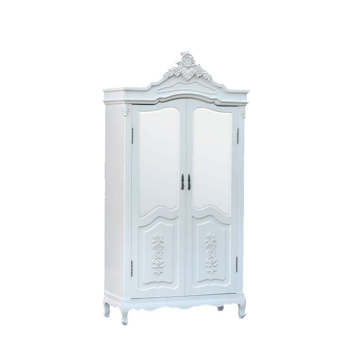 Antique french armoire wardrobe half door works well alongside our shabby chic furniture - French style armoire wardrobe ...
