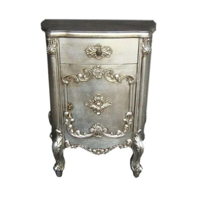 Antique French Style Bedside Cabinet