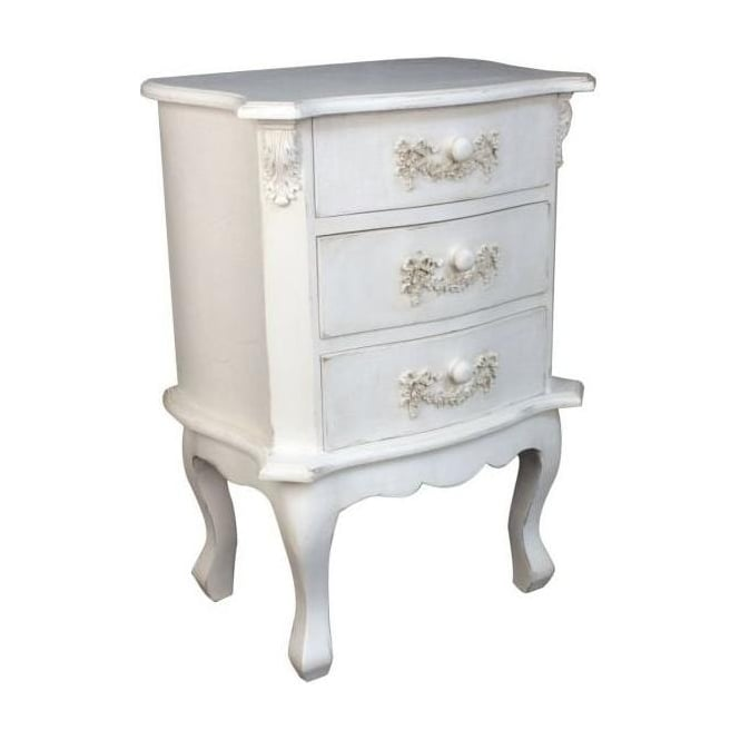 Antique French Style Bedside Chest