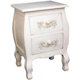 Antique French Style Bedside