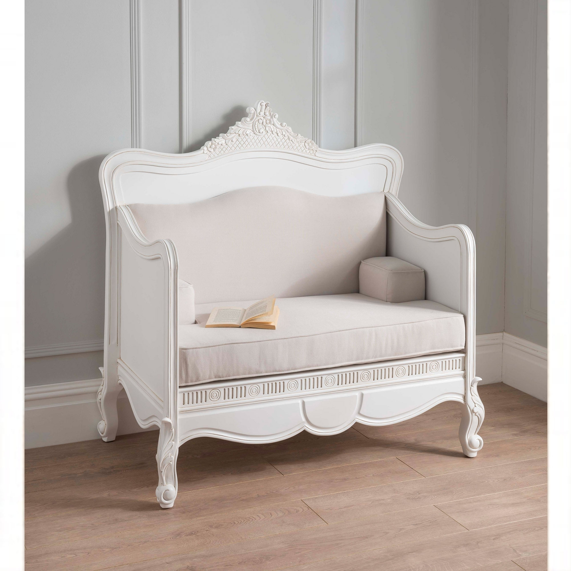Antique French Style Bench Shabby Chic Furniture Online