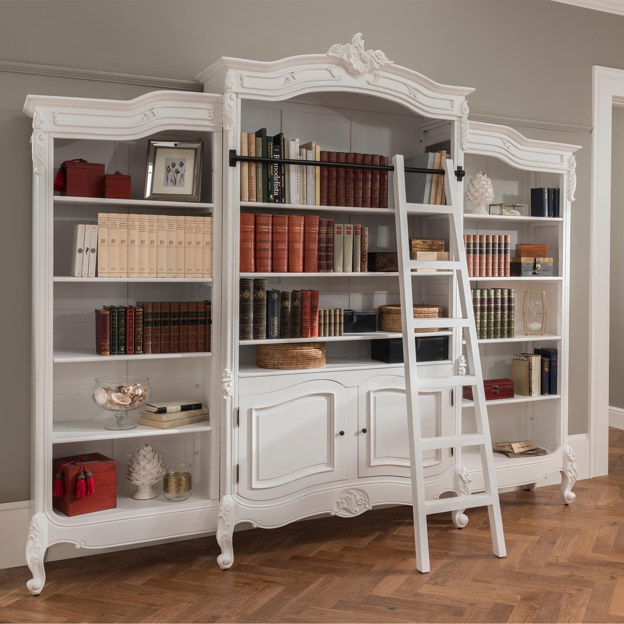 Antique French Style Bookcase French Furniture French