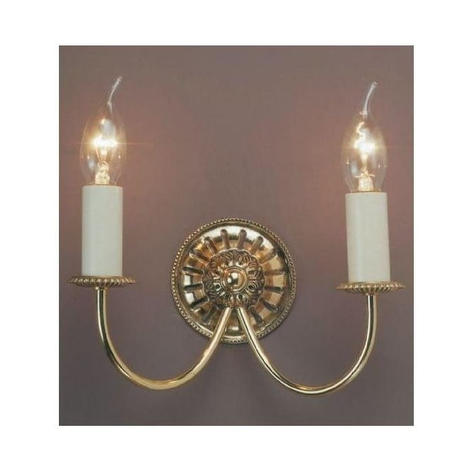 Antique French Style Brass Solar Wall Light 2