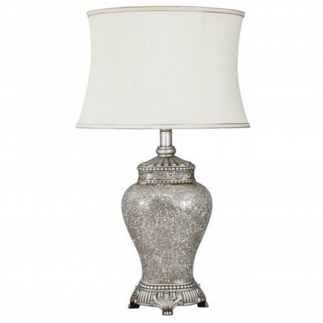 Antique French Style Champagne Mosaic Table Lamp