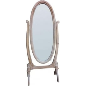 Antique French Style Cheval Mirror