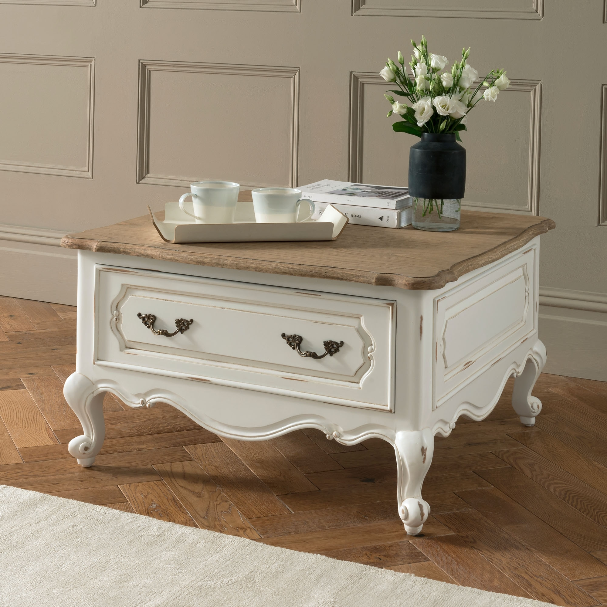Antique French Style Coffee Table | French Furniture Online Now