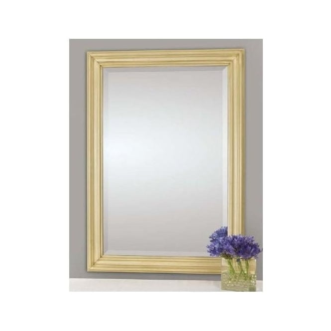 Antique French Style Cream Wall Mirror