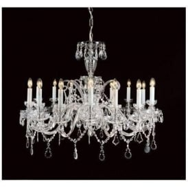 Antique French Style Crystal Pendant Light 10