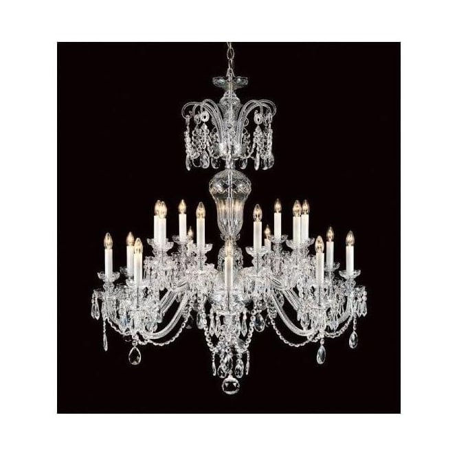 Antique French Style Crystal Pendant Light 2