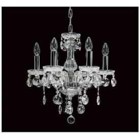 Antique French Style Crystal Pendant Light 7