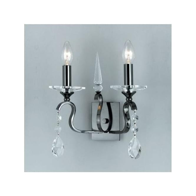 Antique French Style Crystal Wall Light 14