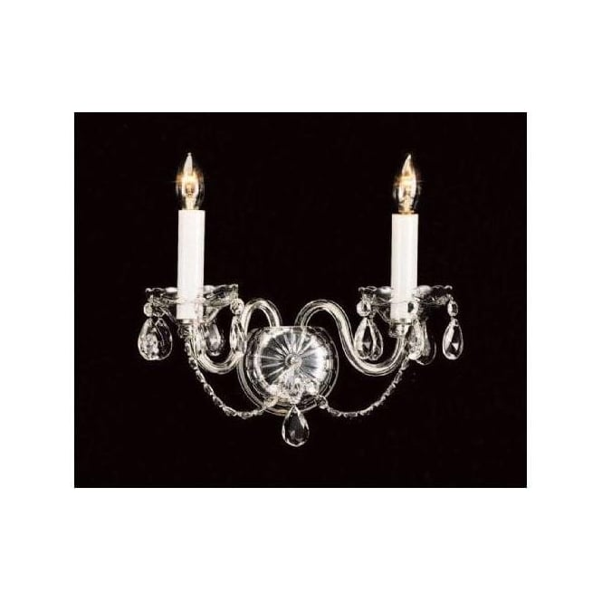 Antique French Style Crystal Wall Light 2