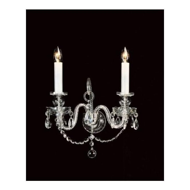 Antique French Style Crystal Wall Light