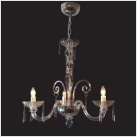 Antique French Style Cut Glass Chandelier