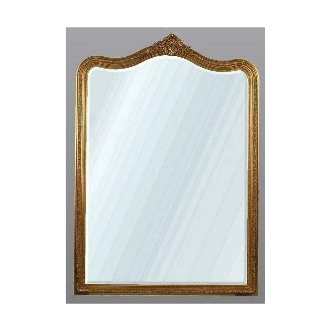 Antique French Style Decorative Gold Mirror