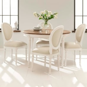 Bon Antique French Style Dining Table Set